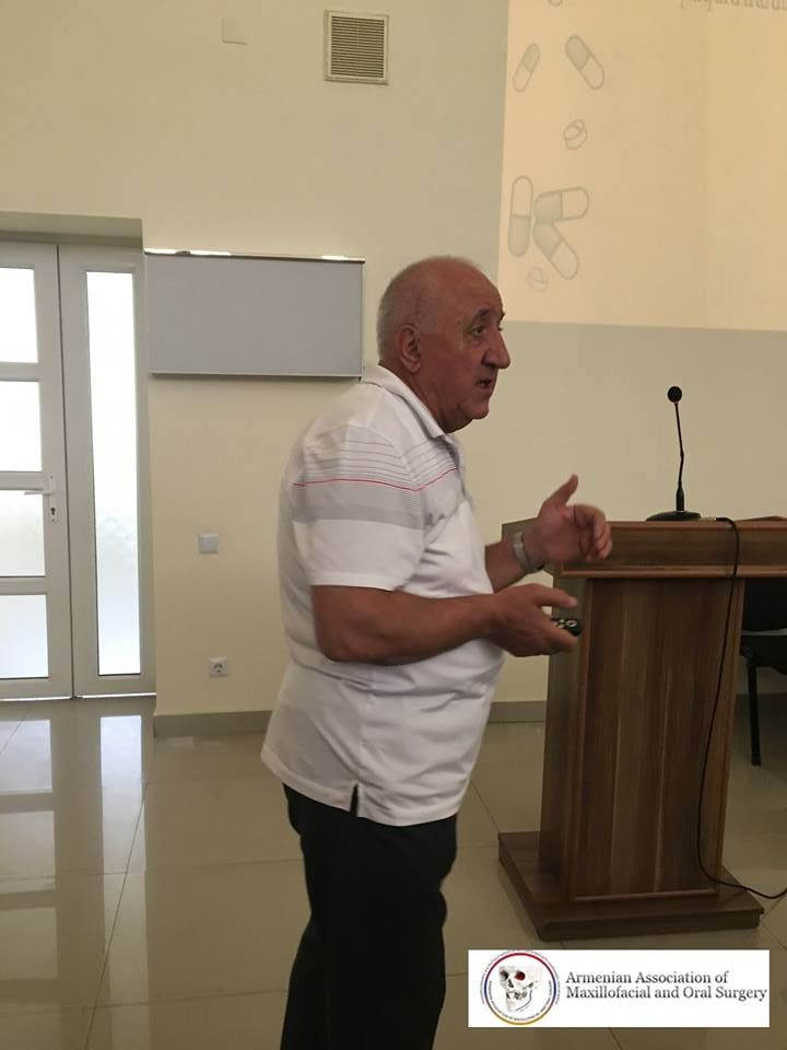«Դիմածնոտային և բերանի խոռոչի վիրաբույժների հայկական ասոցիացիայի» հերթական նիստը